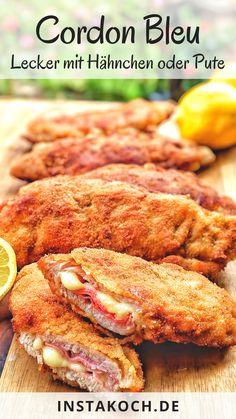 Mary Recipe, Chicken Cordon Bleu, Tandoori Chicken, Food Videos, Food Inspiration, Poultry, Nom Nom, Steak, Good Food