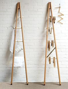 This unique ladder by deVOL is ideal for utilising slim spaces and can be used for a range of items.