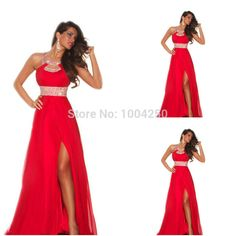 Vestidos de coctel rojos 2013 650