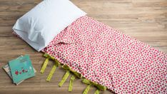 Sewing patterns Learn How to Sew a Sleeping Bag Out of a Duvet Cover Using Sewing Ties