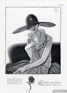 Caroline Reboux (Millinery) 1925 Porter Woodruff