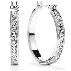 Milgrain Hoop Earrings #myHOFwishlist