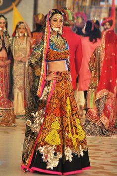 #pantenebridalcoutureweek2013 #bridalcouture Bridal Ali Xeeshan PBCW Collection