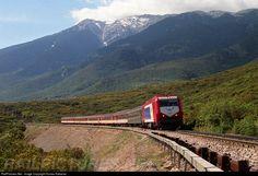 RailPictures.Net Photo: A472 OSE Hellenic Railways Organization AD Tranz at Lamia central Greece, Greece by Kostas Kakavas
