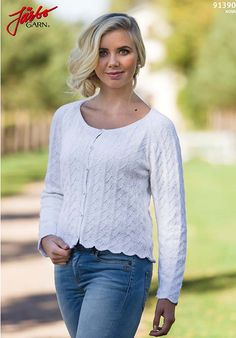 Stay cool in summer with this sweet cardigan.