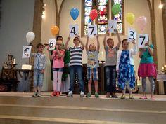 Prachtige opbrengst van het communieproject voor de Speelgoedbank! 28-06-2015