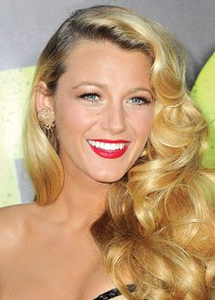 Blake Lively's perfect curls