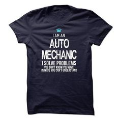 I am an Auto Mechanic T Shirts, Hoodies. Check price ==► https://www.sunfrog.com/LifeStyle/I-am-an-Auto-Mechanic-17213663-Guys.html?41382