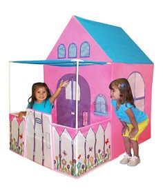 Take a look at this Pink Victorian Cottage Playhouse on zulily today!
