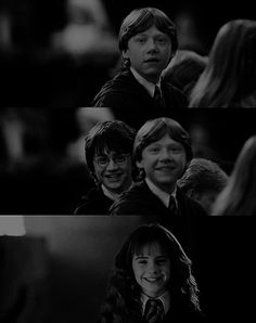 Harry Potter... They were so cute wen they were lil
