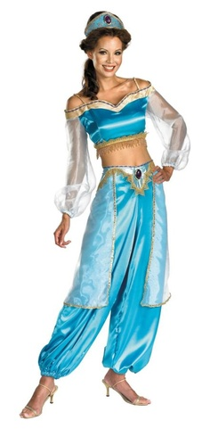 Jasmine- another cute idea for Bela's costume for my party!