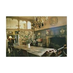 Dream Kitchens / Vintage kitchen ❤ liked on Polyvore featuring backgrounds, harry potter, image, interior and photo's