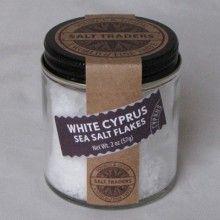 White Cyprus Sea Salt - you'll feel like a professional chef