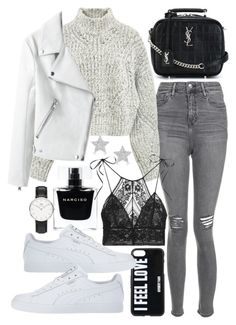 """Untitled #22256"" by florencia95 ❤ liked on Polyvore featuring Narciso Rodriguez, Topshop, Isabel Marant, STELLA McCARTNEY, Givenchy, Yves Saint Laurent, Diamond Star and Daniel Wellington"