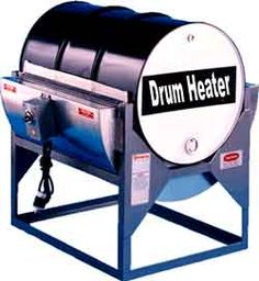 55 Gallon Drum Heaters One of the most common sights in a modern industrial facility is the standard 55 gallon barrel. These drums are made by a huge number of different manufacturers, and are now used for almost any storage material thanks to their capacity and compatibility.  Standard designs that are used by the various different companies mean that equipment that you purchase for handling drums
