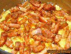 My Favorite Food, Favorite Recipes, Romanian Food, Romanian Recipes, Good Food, Yummy Food, Polenta, Hawaiian Pizza, Pepperoni