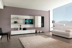 couleurs modernes pour le salon gris