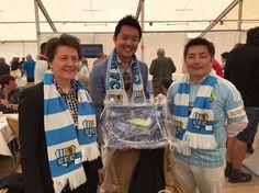 YOKOHAMA Reifen wurde vom #ChemnitzerFC herzlich empfangen