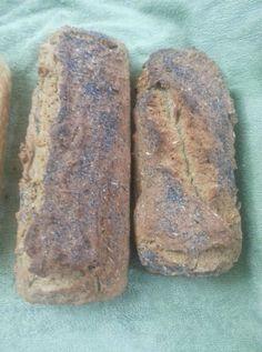 ψωμί με αλεύρι ζέας 10 Pretzel Bun, Bar, Banana Bread, Recipies, Food And Drink, Health Fitness, Snacks, Vegan, Cookies