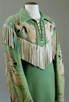 Circa 1950 Nudie shirt( featuring  Bullet) for Roy Rogers