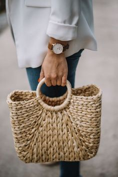 summer bags, straw bags for summer - My Style Vita