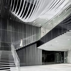 Hongkou soho by kengo kuma is 2016 best of year winner for commercial building/lobby. this building was designed for the property developer soho china. Kengo Kuma, Interior Design Magazine, Lobby Design, Soho, Green Concept, A As Architecture, Organic Architecture, Japanese Architecture, Home Design