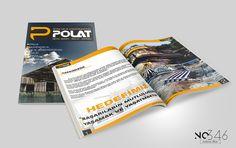 Polat Çelik Katalog Tasarımı – No346 creative media office