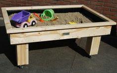 Zandbak en tafel