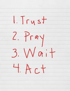 From a Twitter/FB friend pastor - very simple, very wise, very useful.