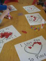 Behind the scenes: Mrs. Gloudemans' Class: Valentine's Day-Love