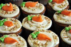Birthday Carrot Cake Cupcakes