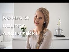 VIDEO: Nopea & Helppo arkimeikki | Mona's Daily Style