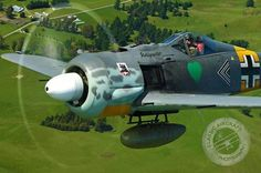 FW-190 A - this aircraft was a beast and hard to kill.