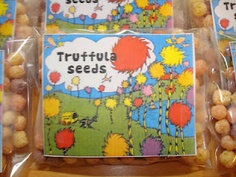 Lollipops & Paper: The Lorax Truffula Seeds FREE PRINTABLE  great Earth day surprise
