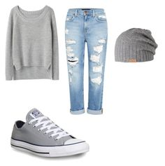 """Finale"" by kaitlin-noir ❤ liked on Polyvore featuring rag & bone, Genetic Denim, Converse and Barts"