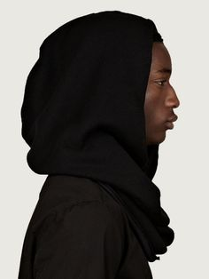 Thom Krom Men's Hooded Cotton Scarf | oki-ni