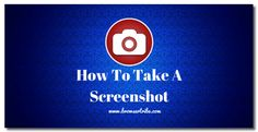 How To Take A Screenshot In Windows Pc #Windows10 #Screenshot #Snapshot #SnippingTool