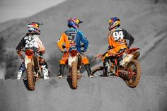 Motocross - my favorite team out there right now.