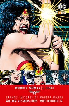 Grandes autores de Wonder Woman: William Messner-Loebs, Mike Deodato, Jr. - El torneo