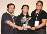 Six students and alumni from the Universidade Anhembi Morumbi's Game Design program won awards during the Brazil Game Jam, a competition held during the Brazil Game Show earlier this month in Sao Paulo.