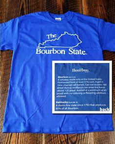 Bourbon State T-Shirt - Short Sleeve – Bourbon Outfitters