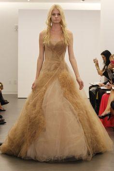 Vera Wang for Fall 2012 Bridal Week