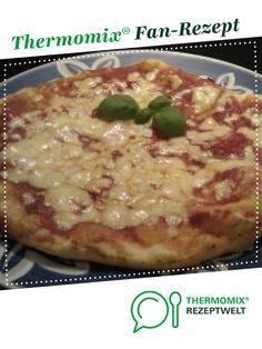 Pizzateig wie aus der Pizzeria von Sarah Tautz. Ein Thermomix ® Rezept aus der Kategorie sonstige Hauptgerichte auf www.rezeptwelt.de, der Thermomix ® Community.
