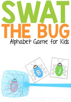 Swat the Bug Alphabet Game - From ABCs to ACTs