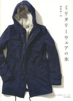 Military Wear Pattern Book by Ryuichiro Shimazaki - Japanese Sewing Patterns for Unisex, Men & Women - Flight Jacket, Field Parka - B1366