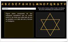 Diccionario de Geometría Online Maths Area, Interactive Activities, Teaching Resources