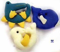 brinquedos em tecidos para bebes - Pesquisa Google