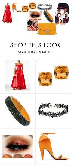 """Diabolik lovers Blood Moon Ball"" by getjinxed205 on Polyvore featuring Betsy & Adam, Effy Jewelry, Calvin Klein 205W39NYC and Furla"