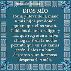 Que asi sea, Amen, God Prayer, Prayer Quotes, Bible Quotes, Bible Verses, Prayer Verses, Spanish Prayers, Quotes En Espanol, Catholic Prayers, Prayer Board