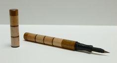 Flex Pen fountain pen - Use your own steel flex nibs (like the Nikko G).